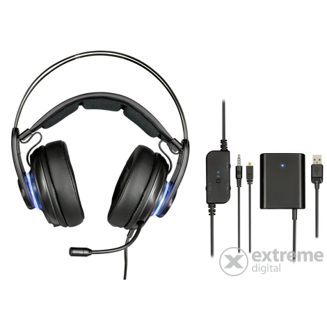 Trust GXT 383 Dion 7.1 mikrofonos fejhallgató + Far Cry 5 PC játék ... baee24d3da