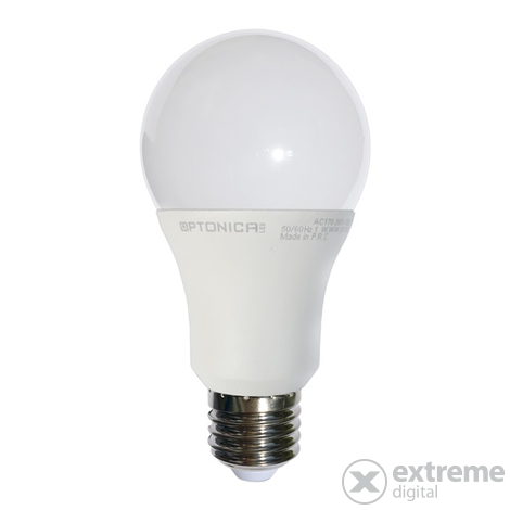 Optonica SP1839 LED gömb izzó (E27, 4W, 320Lm, 4500K, semleges fehér)