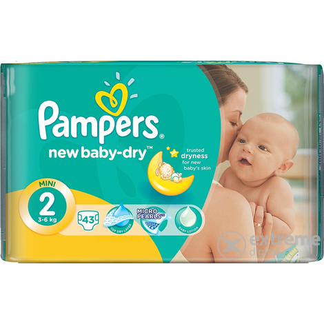 Pampers Active Baby Carry pack pelene mini 43 komad