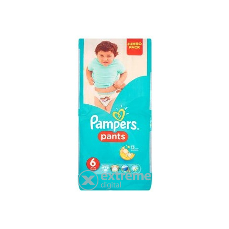 Pampers Pants гащички  6 Extra Large 44 бр.