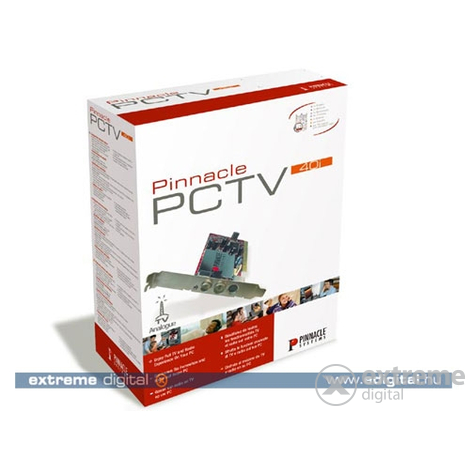 Pinnacle PCTV 40i PCI TV tuner