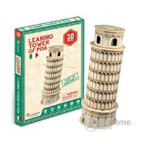 Cubic Fun 3D puzzle mini, Tower of Pisa