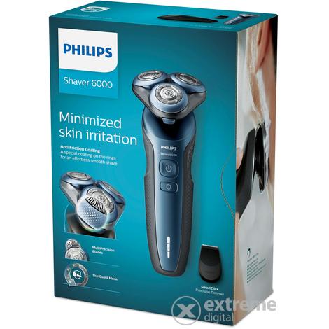 a97112984 Philips Series 6000 S6620/11 Wet & Dry elektrický holiaci strojček ...