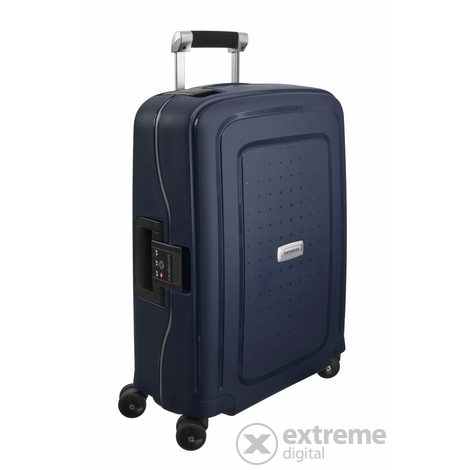 Куфар Samsonite S Cure DLX Spinner 55 cm,тъмно син