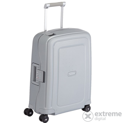Куфар Samsonite S Cure Spinner 55 cm,сребърен
