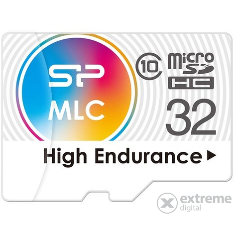 Silicon Power microSDHC 32GB High Endurance Speicherkarte