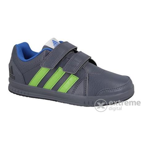 Adidas Gyerekcipő Utcai  35-ös méret  fekete-sárga