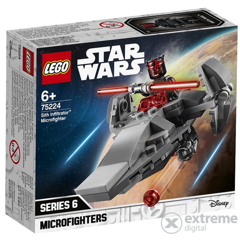 LEGO® Star Wars™ Sith Infiltrator™ Microfighter 75224