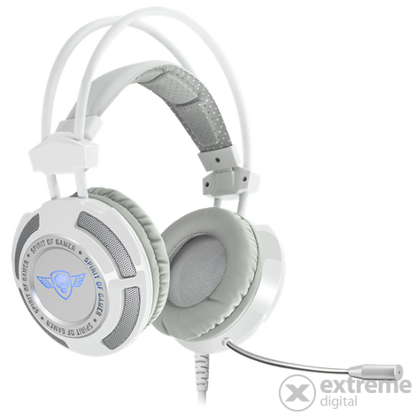 Spirit of Gamer fejhallgató ELITE-H70 White 7.1 fcbd511823