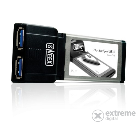 Card Sweex US111 2 Port SuperSpeed USB 3.0 Express