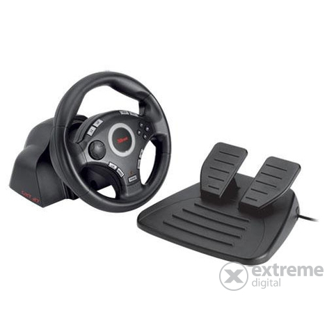Trust 16064 GXT 27 Force Vibration volant a pedály (PS3 / 2 & PC)