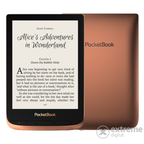PocketBook 632 Touch HD 3 ebook, vodoodporni eBook, temnorjav
