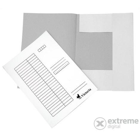 9cf22205c138 Victoria karton pólyás dosszié, fehér   Extreme Digital