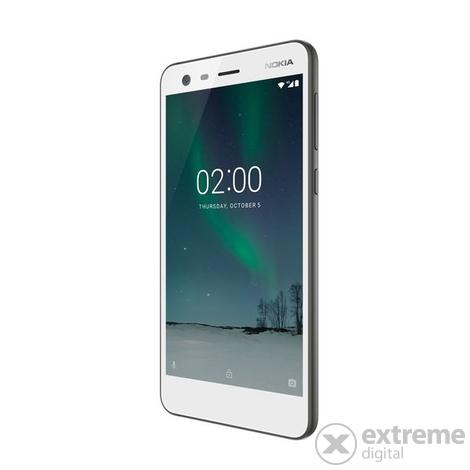 nokia 2 dual sim smartphone ohne vertrag wei android. Black Bedroom Furniture Sets. Home Design Ideas
