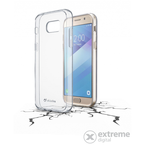 Cellularline Clear Duo puzdro pre Samsung Galaxy A5 (2017)