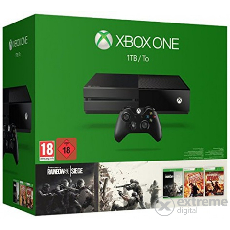 Конзола Xbox One 1TB `Tom Clancy`s Rainbow Six Siege