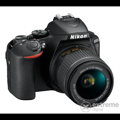 b859e74e4891 Nikon D5600 DSLR fényképezőgép kit (AF-P 18-55mm VR objektívvel ...