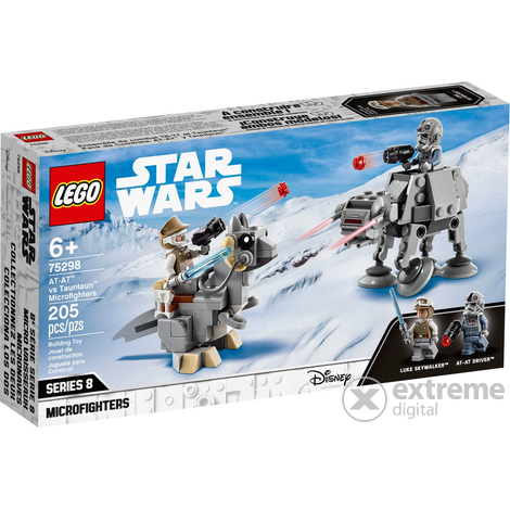 LEGO® Star Wars™ 75298 AT-AT™ vs Tauntaun™ Microfighters