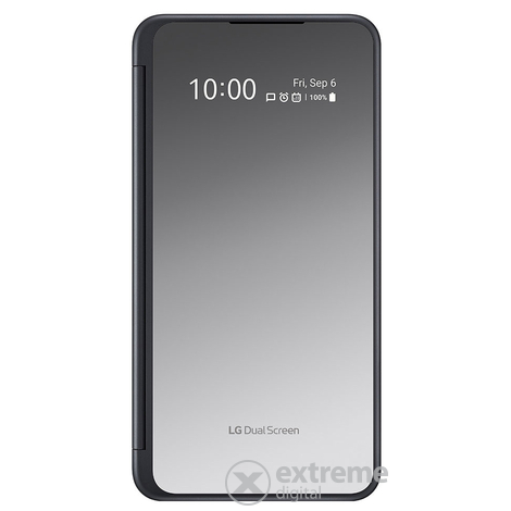 LG G8X ThinQ 6GB/128GB Single SIM kártyafüggetlen okostelefon, Black (Android) + Dual Screen