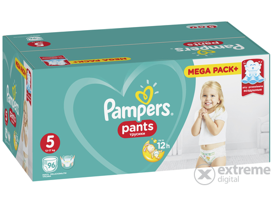 Pampers Pants pelenka Mega Box junior, 96 db