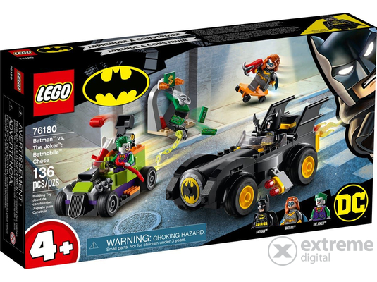 LEGO® Super Heroes 76180 Batman™ vs. Joker™: Batmobile™ hajsza