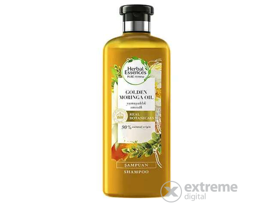 Herbal Essences Smooth Gold Moringa sampon, 400ml