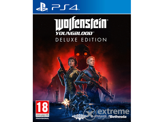 Wolfenstein Youngblood Deluxe Edition PS4 játékszoftver