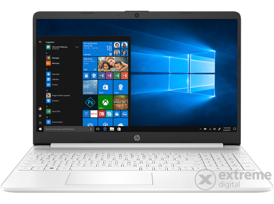 HP 15s-fq2004nh 303B7EA#AKC notebook, fehér + Windows10