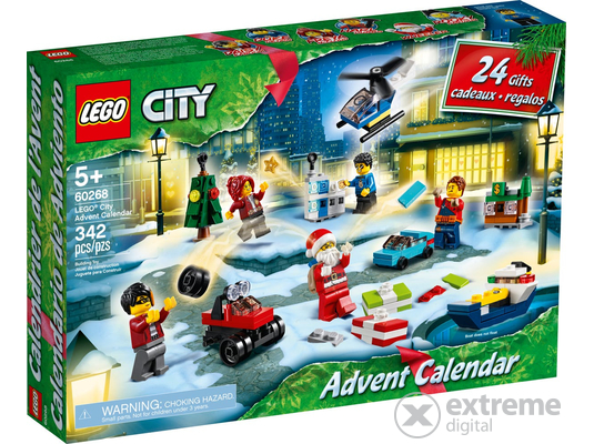 LEGO® City 60268 Adventi naptár