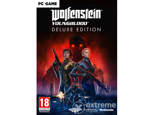Wolfenstein Youngblood Deluxe Edition PC játékszoftver