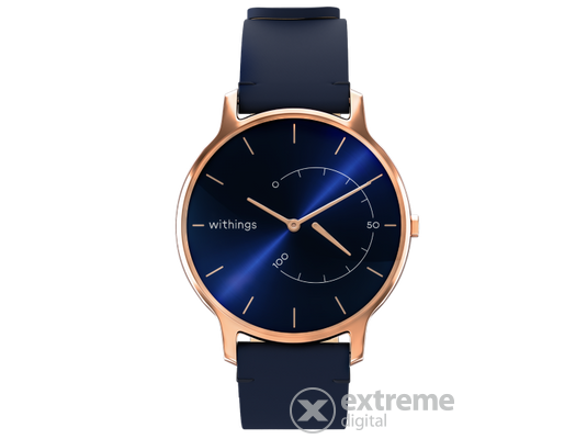 Withings Move Timeless Chic okosóra, kék/rose gold