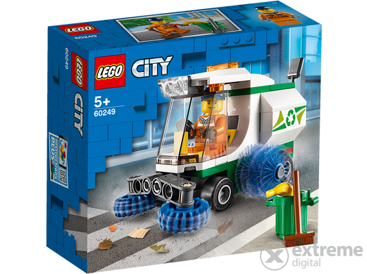 LEGO® City Great Vehicles 60249 Utcaseprő gép