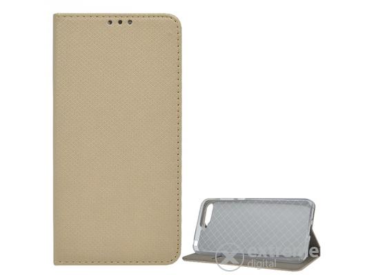 29d51ec2fae80 Gigapack álló bőr tok Huawei Y6 (2018) készülékhez