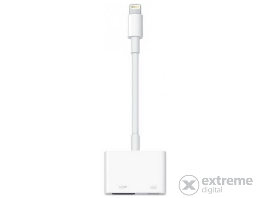 Apple Lightning–digitális AV-adapter (md826zm/a)