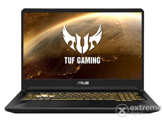 Asus TUF Gaming FX705GD-EW077 notebook, fegyvermetál