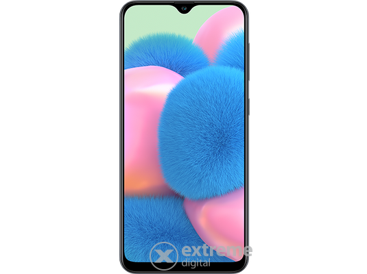 Samsung Galaxy A30s 2019 Dual SIM (SM-A307FZKVXEH) 64GB, fekete (Android)