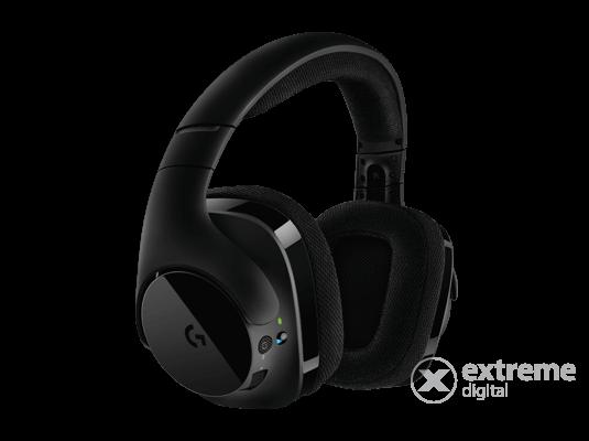 Logitech G533 vezeték nélküli gamer fejhallgató d5c95f4f61