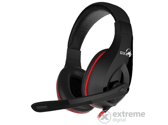 Genius HS-G560 Gaming Headset Black mikrofonos fejhallgató b3c09d9c94