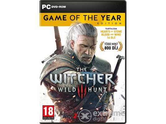 The Witcher III: Wild Hunt Game Of The Year Edition PC játék