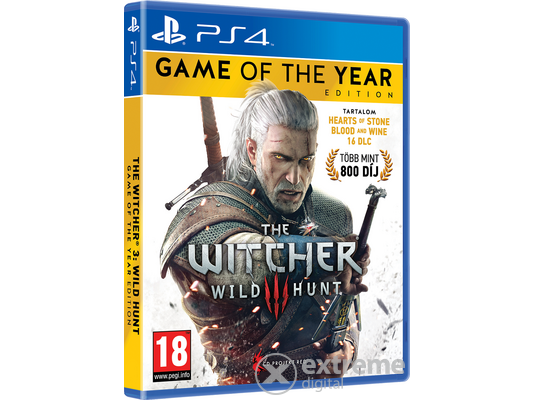 The Witcher III: Wild Hunt Game Of The Year Edition PS4 játék