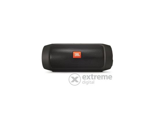 JBL Charge 2+ hordozható, vízálló Bluetooth hangszóró, fekete
