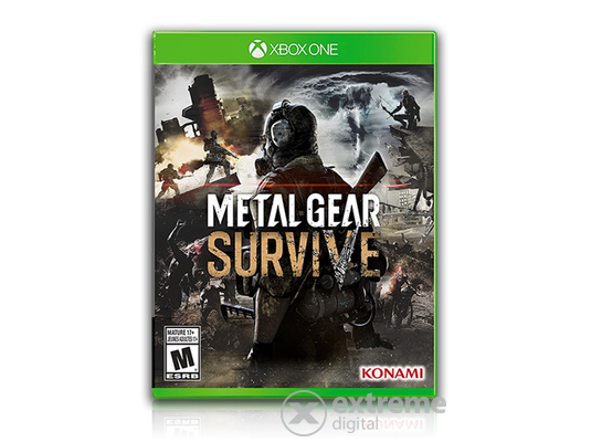 Metal Gear Survive Xbox One játékszoftver
