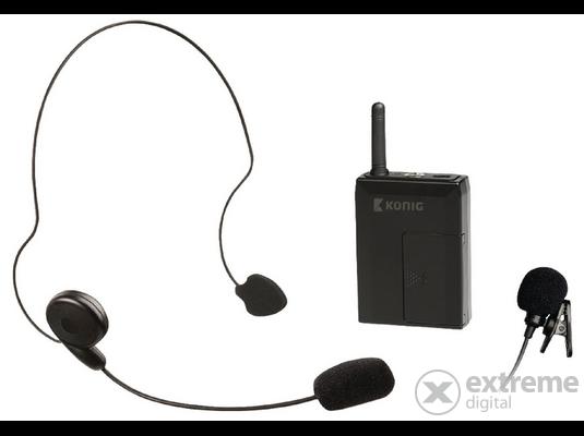 König KN-MICW631 microport vezeték nélküli mikrofonhoz  edad35b973