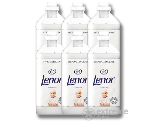 Lenor Sensitive textilöblítő, 6x1800ml/6x60 mosás