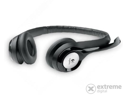 Logitech H390 USB mikrofonos fejhallgató (981-000406) 41c7059893