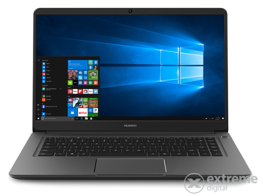 Huawei 53010GWA matebook D notebook, szürke + Windows 10 Home