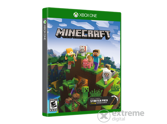 Minecraft Starter Collection Xbox One játékszoftver