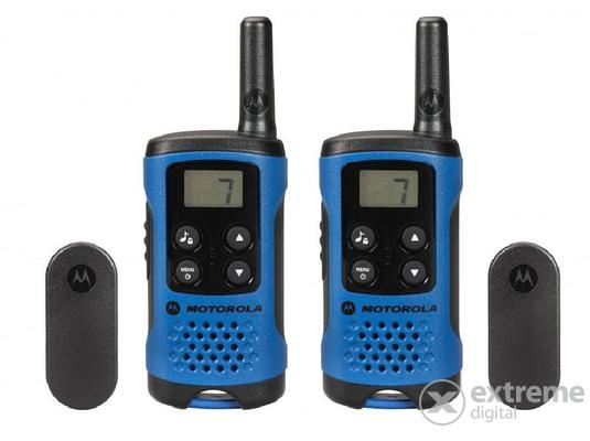 Motorola TLKR T41 adó-vevő készülék, kék