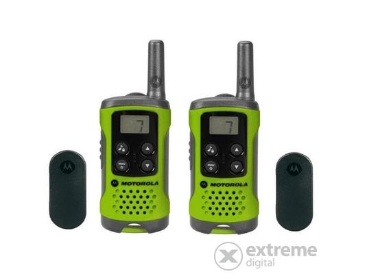 Motorola TLKR T41 adó-vevő készülék, zöld