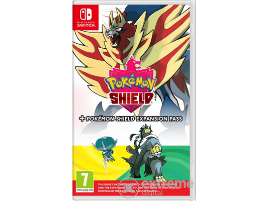 Nintendo Switch Pokémon Shield játékszoftver + Expansion Pass